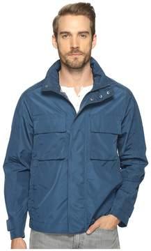 Andrew Marc Hewlett Tech Oxford Trucker Jacket Men's Coat