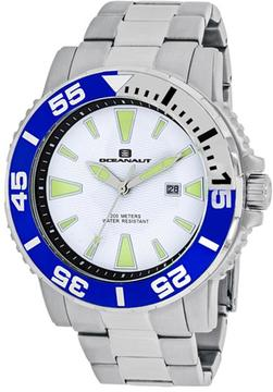 Oceanaut Marletta OC2912 Men's Round Silver Stainless Steel Watch