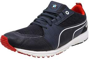 Puma Men's Bmw Motorsports Pitlan Team Blue / High Risk Red Ankle-High Fashion Sneaker - 11.5M