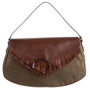 Giuseppe Zanotti Fringe Handle Bag