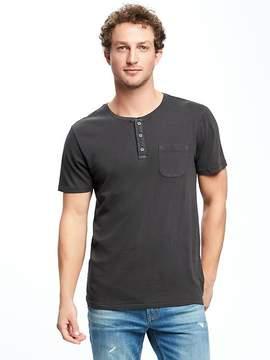 Old Navy Garment-Dyed Henley for Men