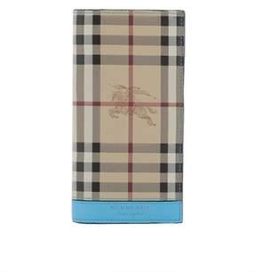 Burberry Men's Beige Leather Wallet.