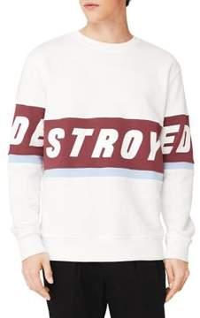 MANGO Message Cotton Sweatshirt
