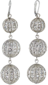 Fragments for Neiman Marcus Triple Crystal Ball Earrings