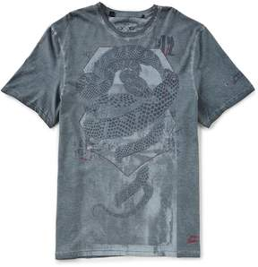 Buffalo David Bitton Tahart Short-Sleeve Crew Neck T-Shirt
