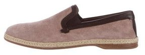 Dolce & Gabbana Suede Leather-Trimmed Espadrille w/ Tags