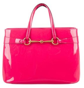 Gucci Patent Leather Bright Bliss Bag - PINK - STYLE