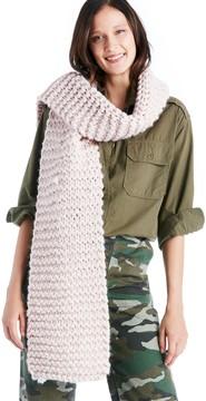 Sole Society Chunky Oversize Knit Scarf