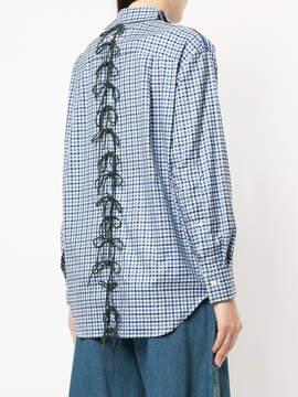 Facetasm checked shirt