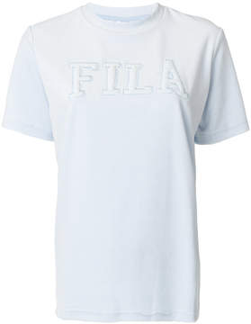 Fila logo embroidered knitted top