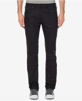 Buffalo David Bitton Men's Ash-x Slim-Straight Fit Stretch Moto Jeans