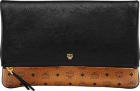 MCM Corina Crossbody Clutch In Visetos Block Leather