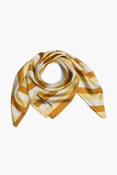 Sonia Rykiel | Striped Silk Twill Square Scarf