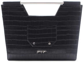 Nasty Gal Top Handle Crocodile Bag
