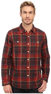 True Grit Harley Double Light Freedom Plaid Long Sleeve Two-Pocket Shirt