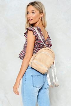 nastygal WANT Small World Backpack