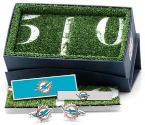 Ice Miami Dolphins 3-Piece Gift Set