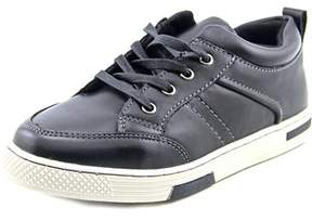 Steve Madden Jaydenn Youth Round Toe Synthetic Black Sneakers.