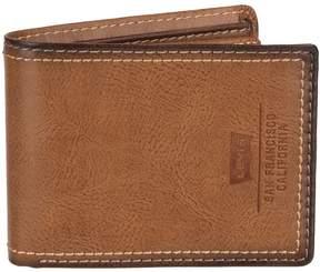 Levi's Men's Slimfold Extra-Capacity Wallet