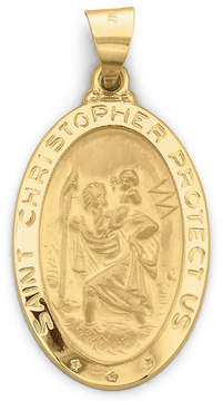 JCPenney FINE JEWELRY 14K Gold St. Christopher Medallion