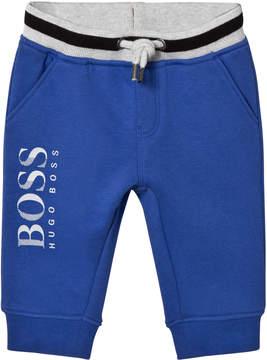 BOSS Blue Branded Sweatpants