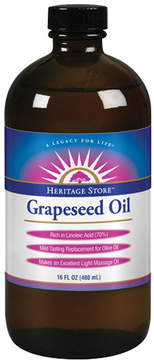 Grapeseed Oil by Heritage Products (16oz Oil)