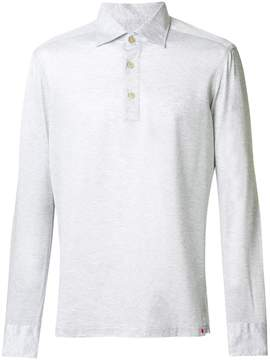 Kiton long sleeve polo shirt