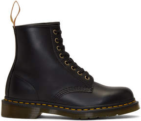 Dr. Martens Black Vegan 1460 Lace-Up Boots