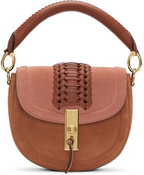 Altuzarra Pink Suede Mini Ghianda Bag