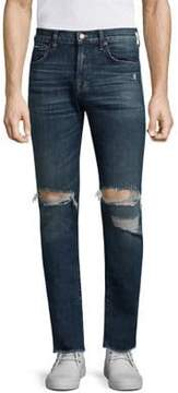 7 For All Mankind Paxtyn Skinny Clean Pocket Distressed Jeans