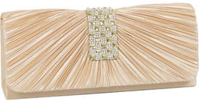 J. Furmani Women's 60487 Stone Flap Clutch