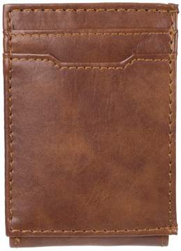 Croft & Barrow Men's RFID-Blocking Front Pocket Wallet With Magnetic Money Clip