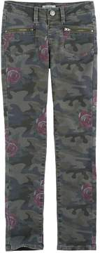 Mudd Girls 7-16 & Plus Size Camo Ankle Skinny Jeans