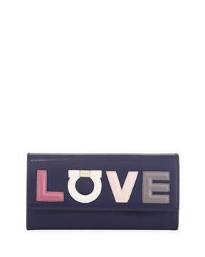 Salvatore Ferragamo Love Continental Flap Wallet