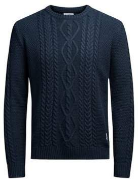 Jack and Jones Cable-Knit Sweater