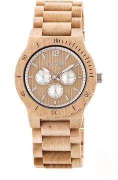 Earth Wood Unisex Brown Bracelet Watch-Ethew5301