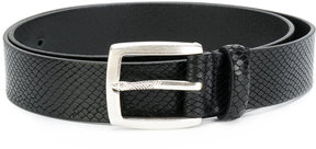 Just Cavalli textured buckle belt