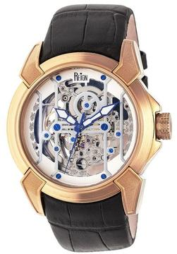 Reign Optimus Collection REIRN3805 Men's Rose Gold Stainless Steel Automatic Watch