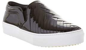 Celine Leather Slip-on Sneaker.