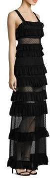 Alexis Ruffled Tiered Dress