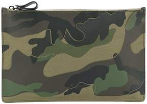 Valentino camouflage clutch