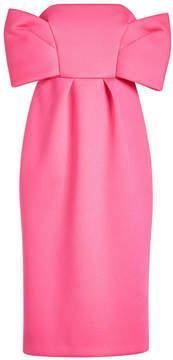 DELPOZO Sleeveless Dress with Bow