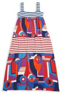 Junior Gaultier Toddler's, Little Girl's & Girl's Striped Colorblock Dress