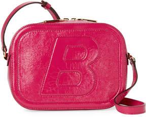 Bally Pink Tipsy B Patent Crossbody