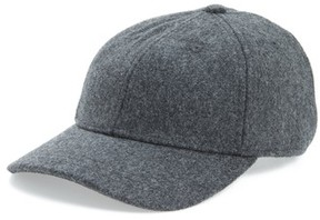 Madewell Women's Wool Blend Baseball Hat - Grey