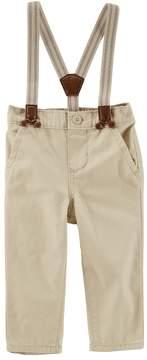 Osh Kosh Oshkosh Bgosh Baby Boy Suspender Jogger Pants