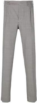 Berwich micro check trousers