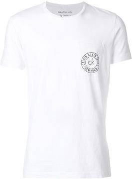 Calvin Klein Jeans logo patch T-shirt