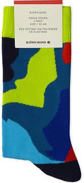 Bjorn Borg Cotton-blend ankle socks
