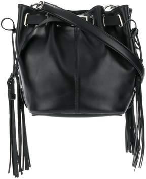 Roger Vivier Balluchon Leather Satchel Bag